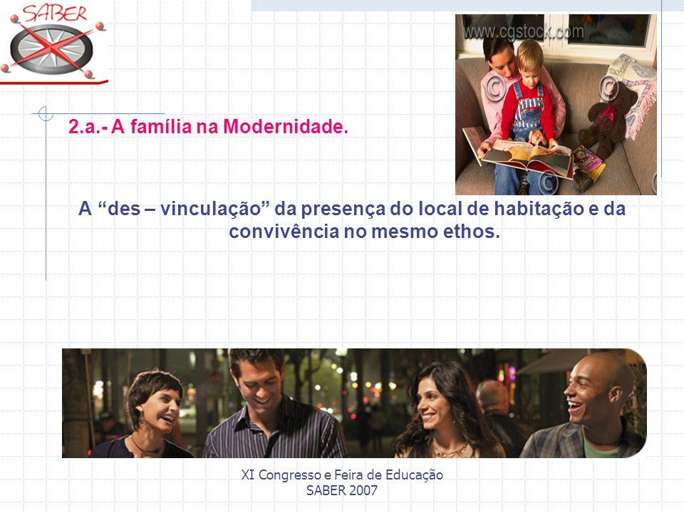 XI Congresso e Feira de Educação SABER 2007