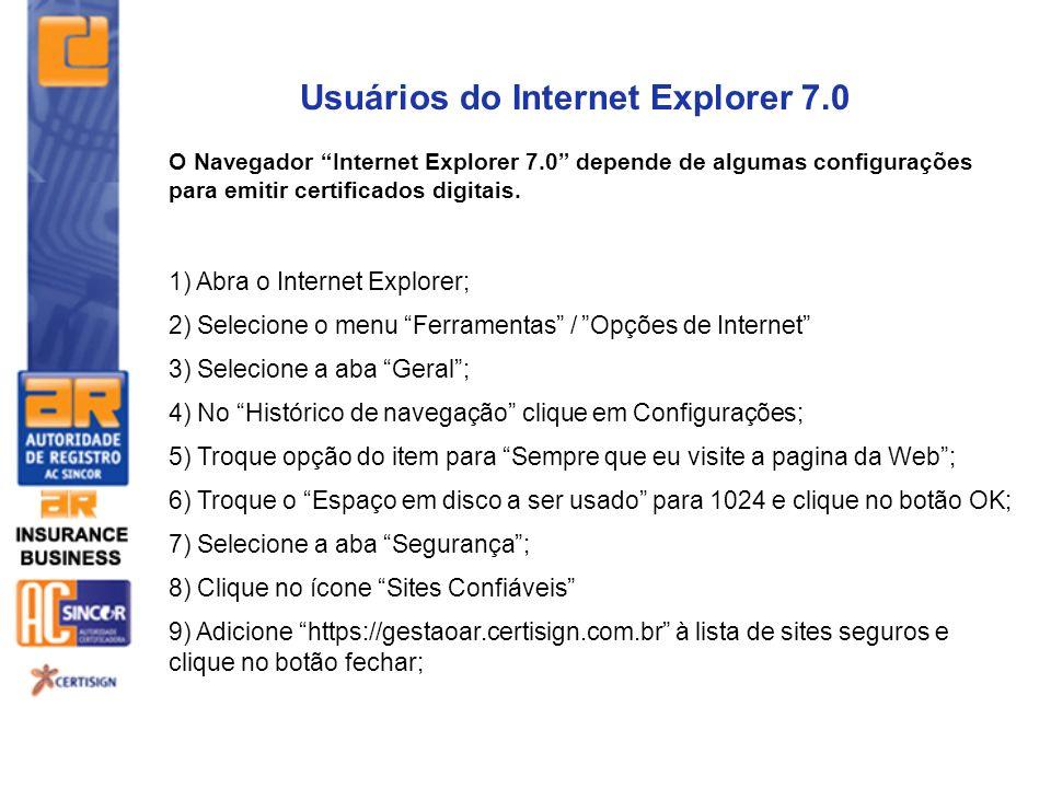 Usuários do Internet Explorer 7.0