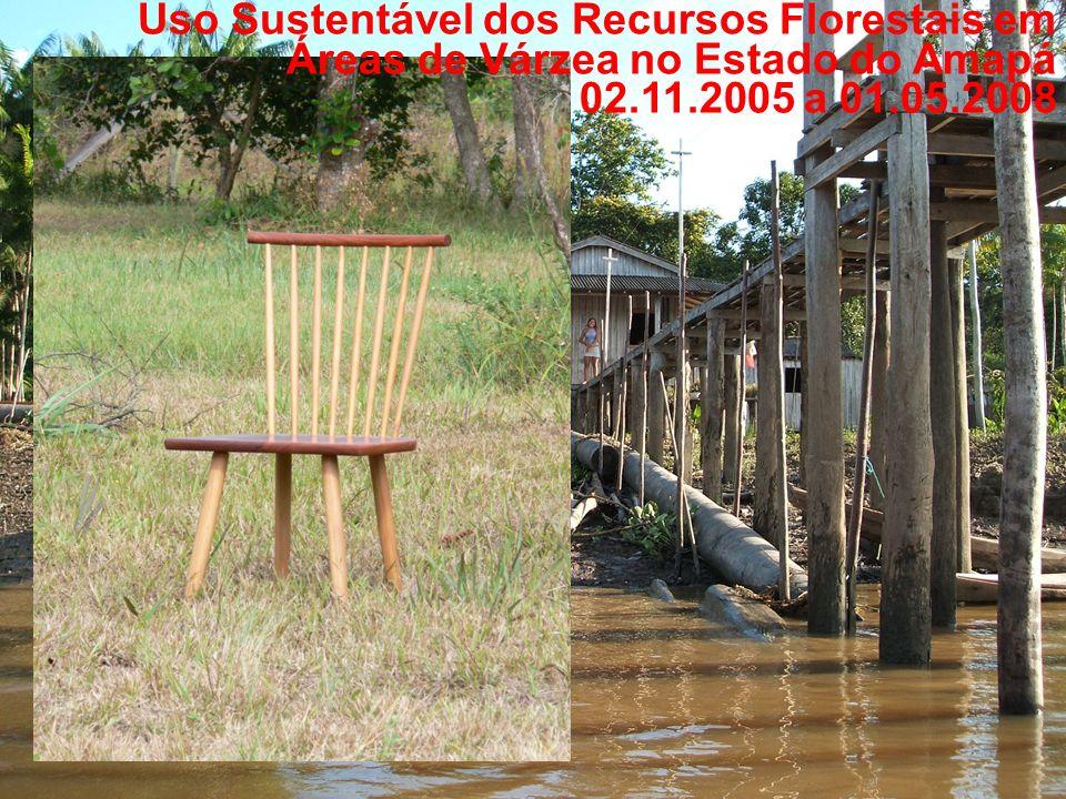 Uso Sustentável dos Recursos Florestais em Áreas de Várzea no Estado do Amapá 02.11.2005 a 01.05.2008
