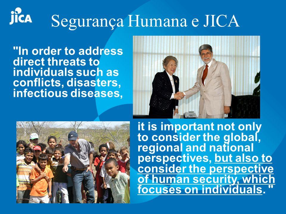 Segurança Humana e JICA