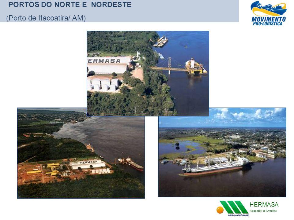 PORTOS DO NORTE E NORDESTE (Porto de Itacoatira/ AM)