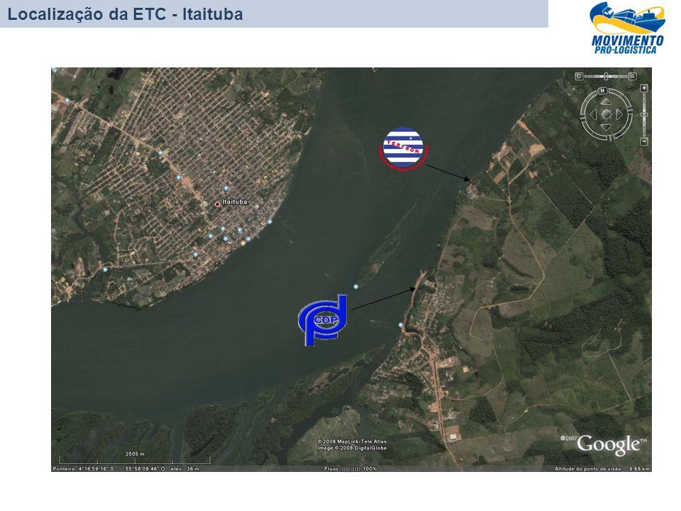 Localização da ETC - Itaituba