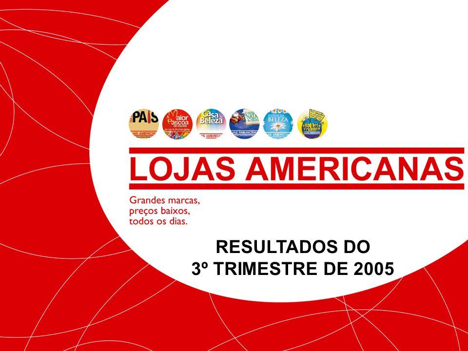 RESULTADOS DO 3º TRIMESTRE DE 2005