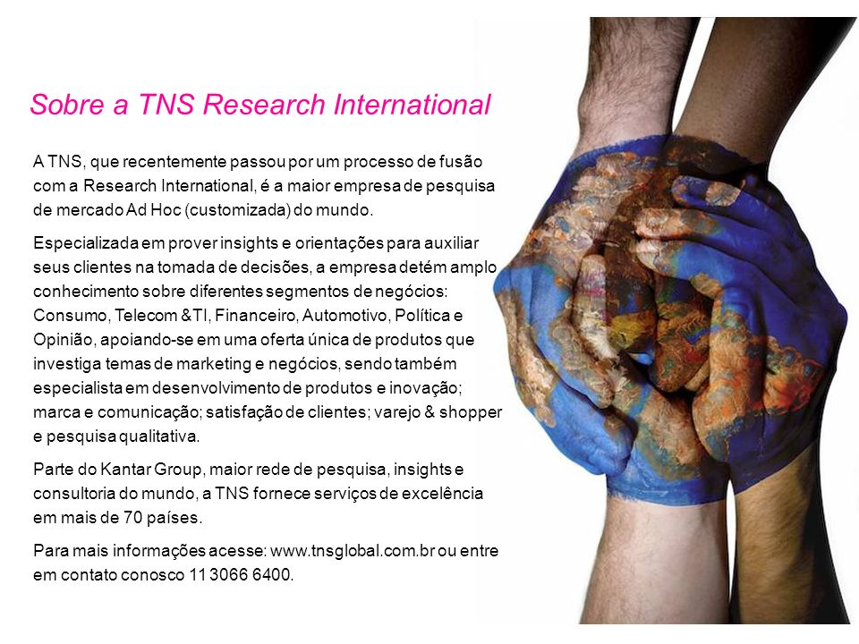 Sobre a TNS Research International