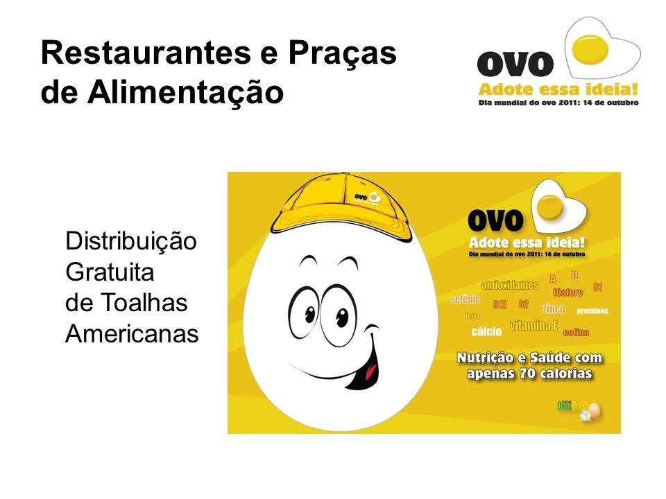 Restaurantes e Praças de Alimentação