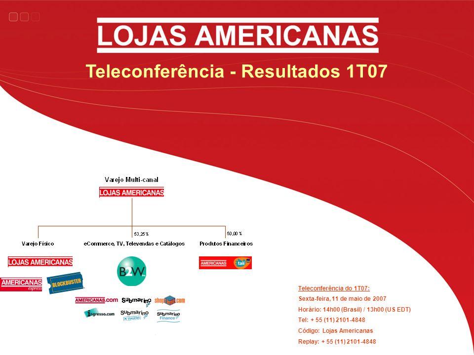 Teleconferência - Resultados 1T07
