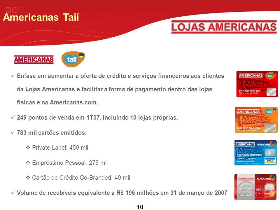 Americanas Taií