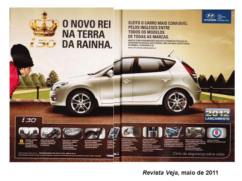 Revista Veja, maio de 2011