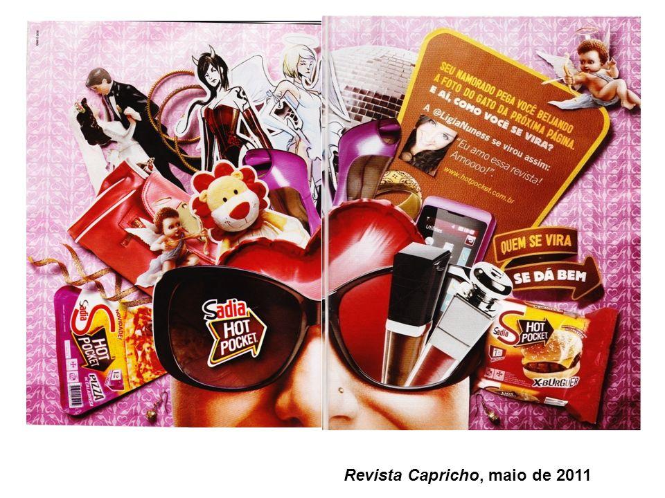 Revista Capricho, maio de 2011