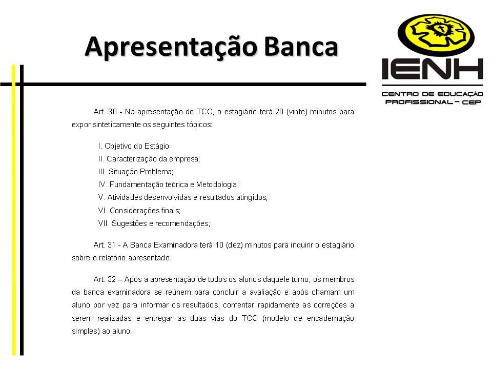 Apresentação Banca