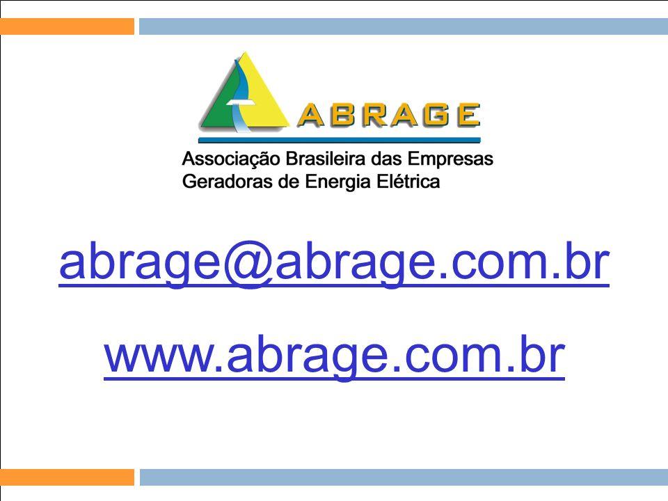 abrage@abrage.com.br www.abrage.com.br Relações com Investidores