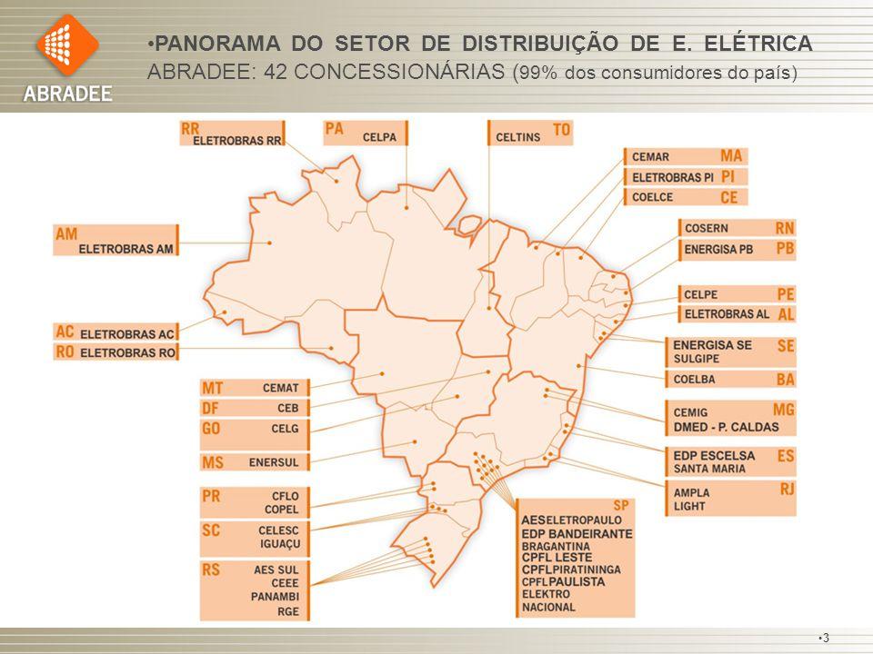 PANORAMA DO SETOR DE DISTRIBUIÇÃO DE E