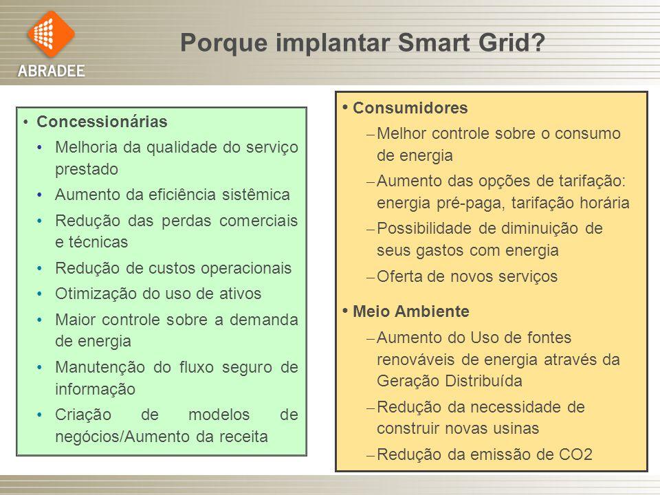 Porque implantar Smart Grid