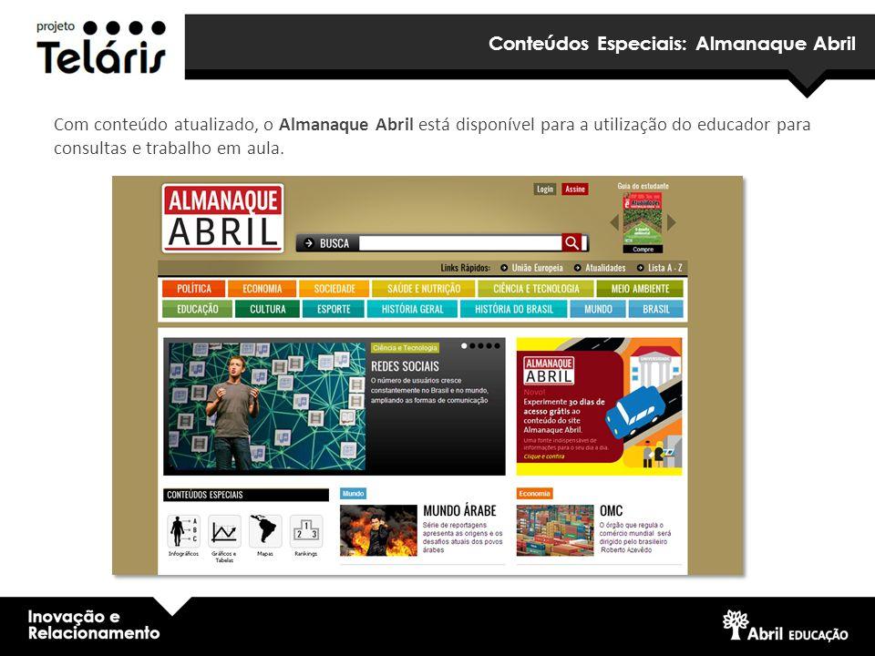 Conteúdos Especiais: Almanaque Abril