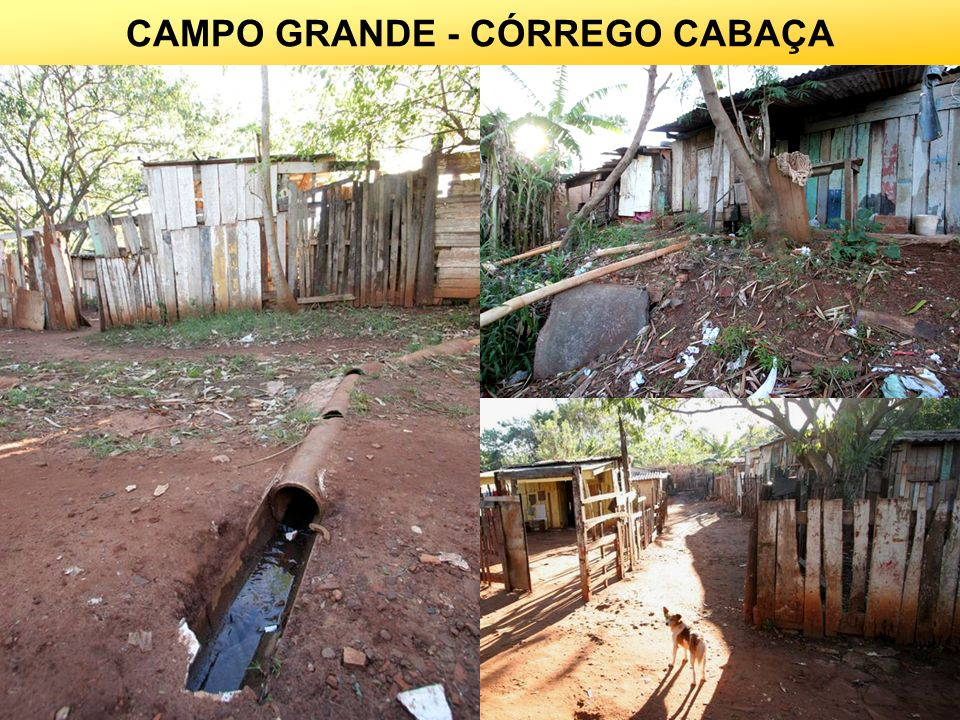 CAMPO GRANDE - CÓRREGO CABAÇA