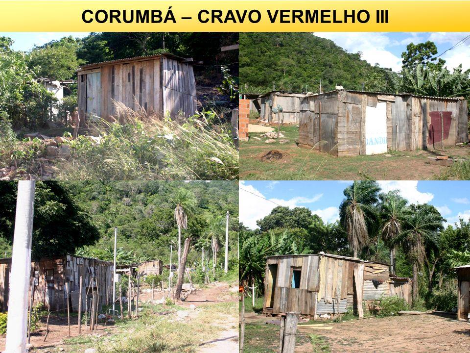 CORUMBÁ – CRAVO VERMELHO III