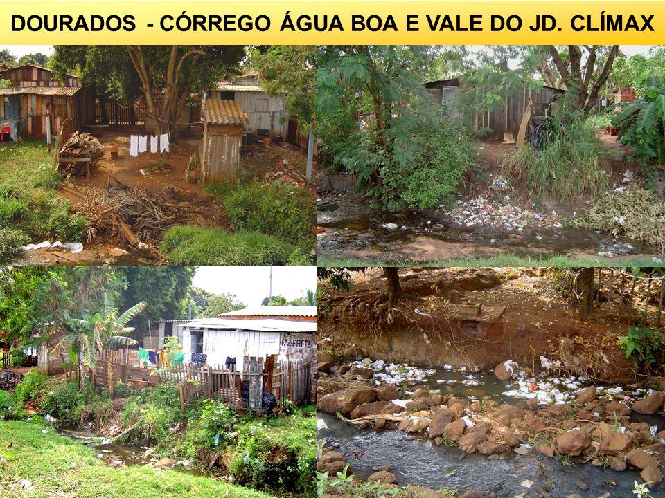 DOURADOS - CÓRREGO ÁGUA BOA E VALE DO JD. CLÍMAX