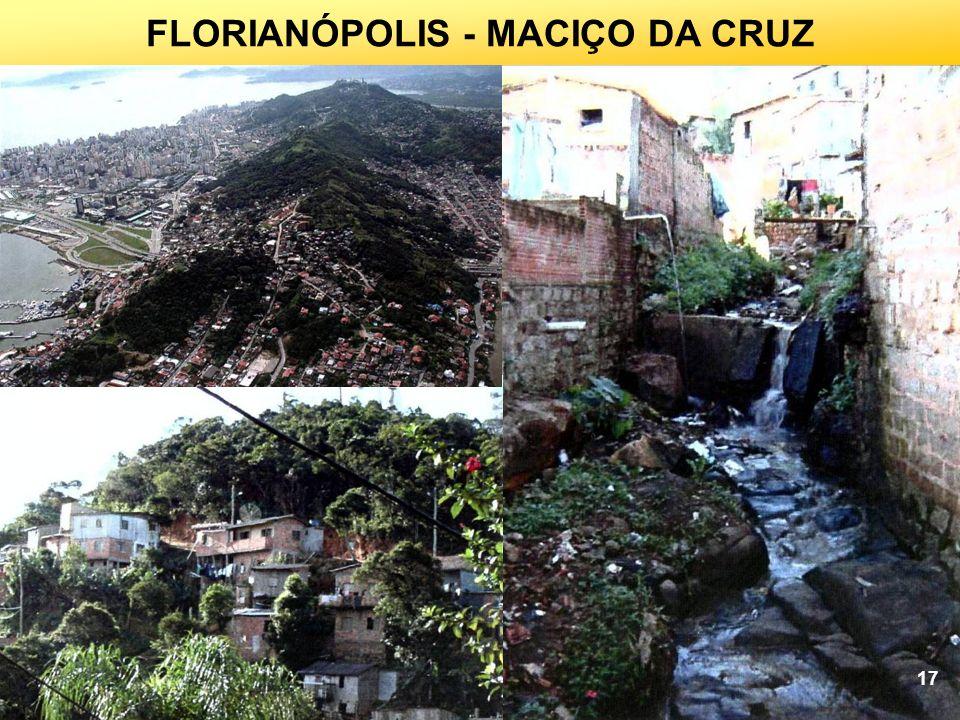 FLORIANÓPOLIS - MACIÇO DA CRUZ