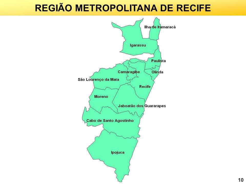 REGIÃO METROPOLITANA DE RECIFE