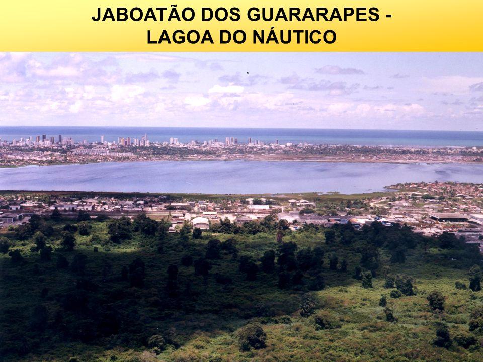 JABOATÃO DOS GUARARAPES - LAGOA DO NÁUTICO