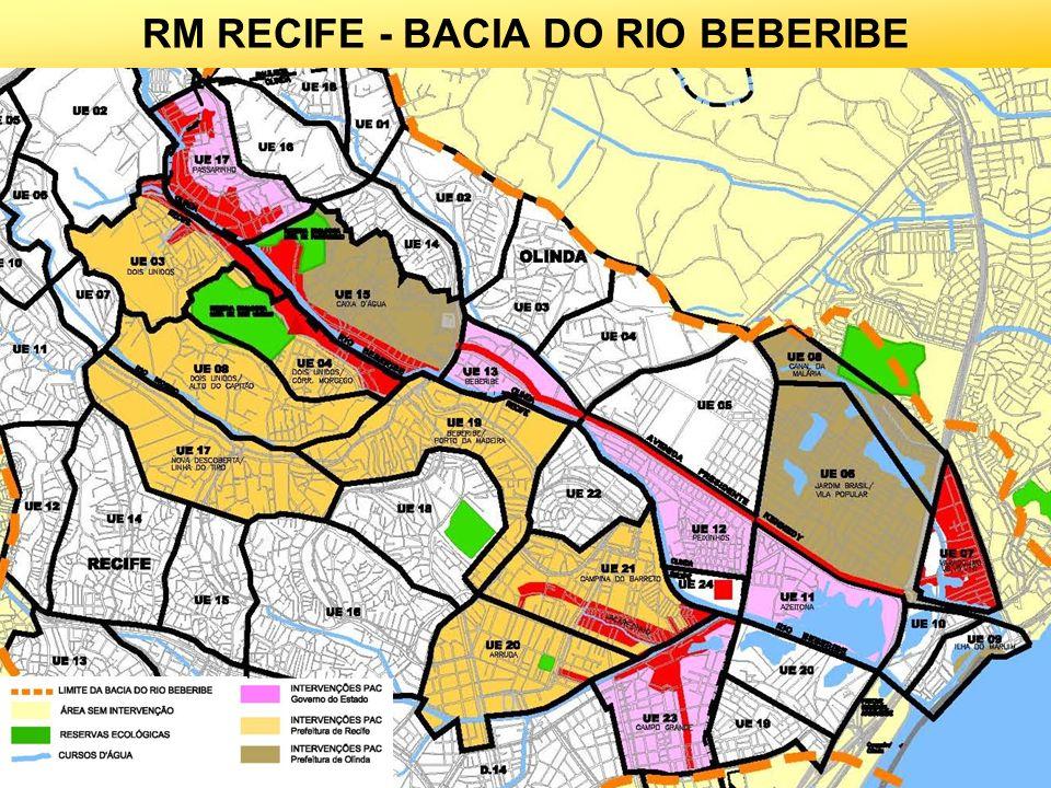 RM RECIFE - BACIA DO RIO BEBERIBE
