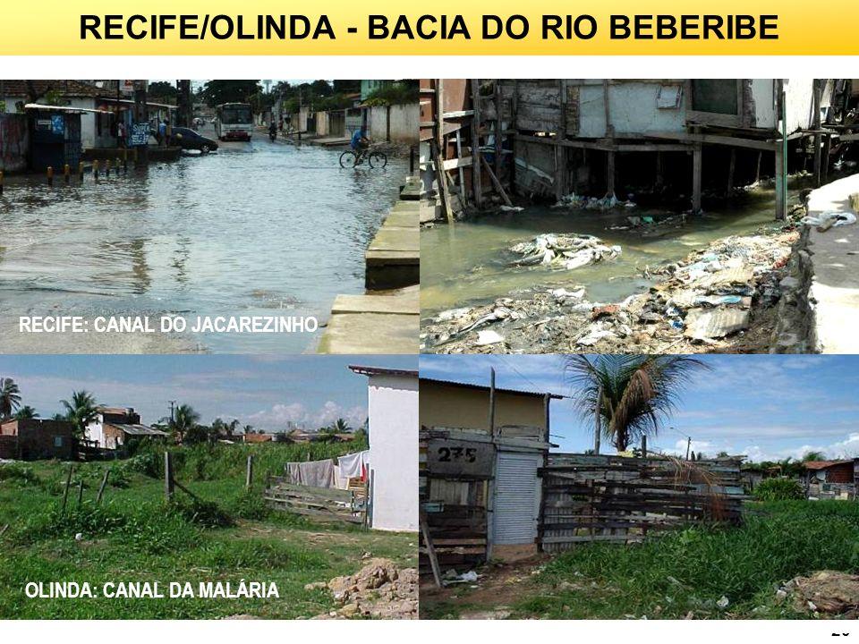 RECIFE/OLINDA - BACIA DO RIO BEBERIBE