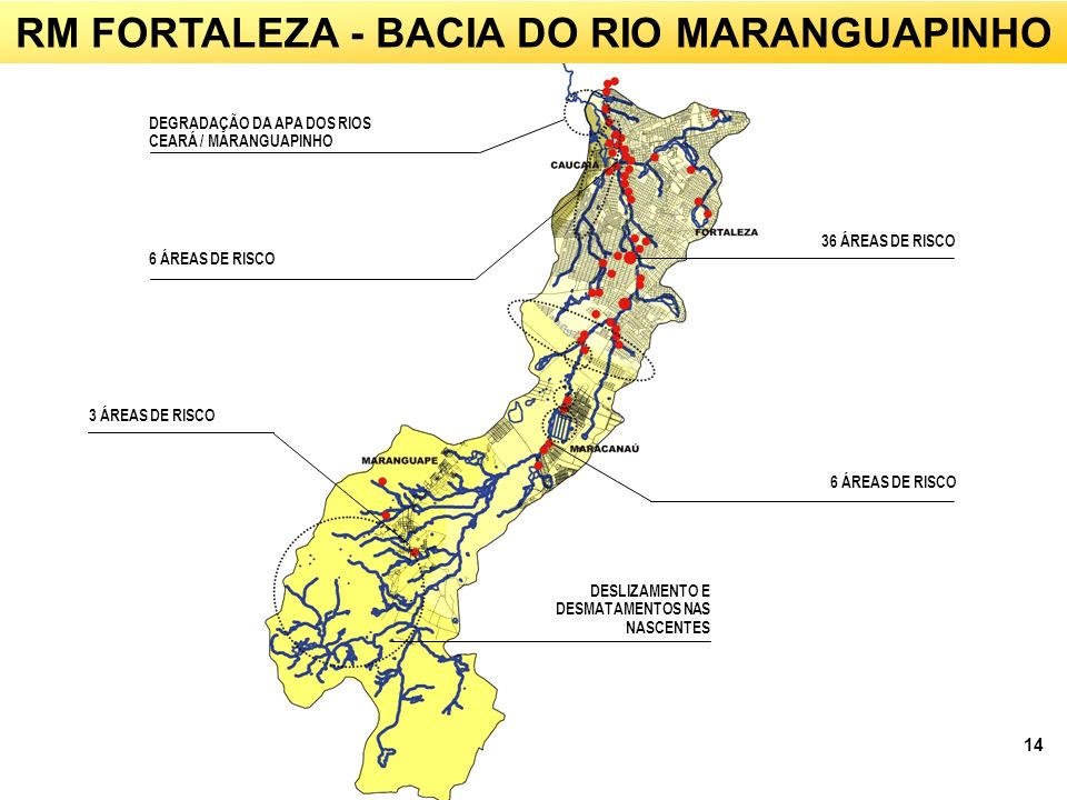 RM FORTALEZA - BACIA DO RIO MARANGUAPINHO