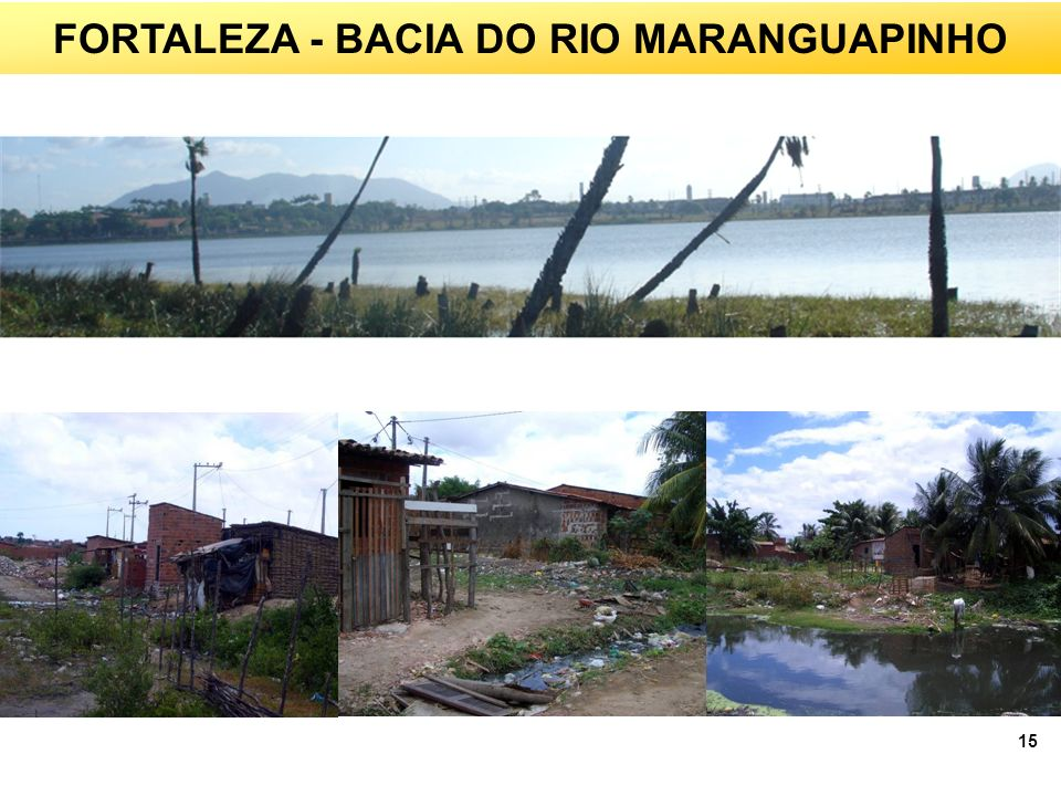 FORTALEZA - BACIA DO RIO MARANGUAPINHO