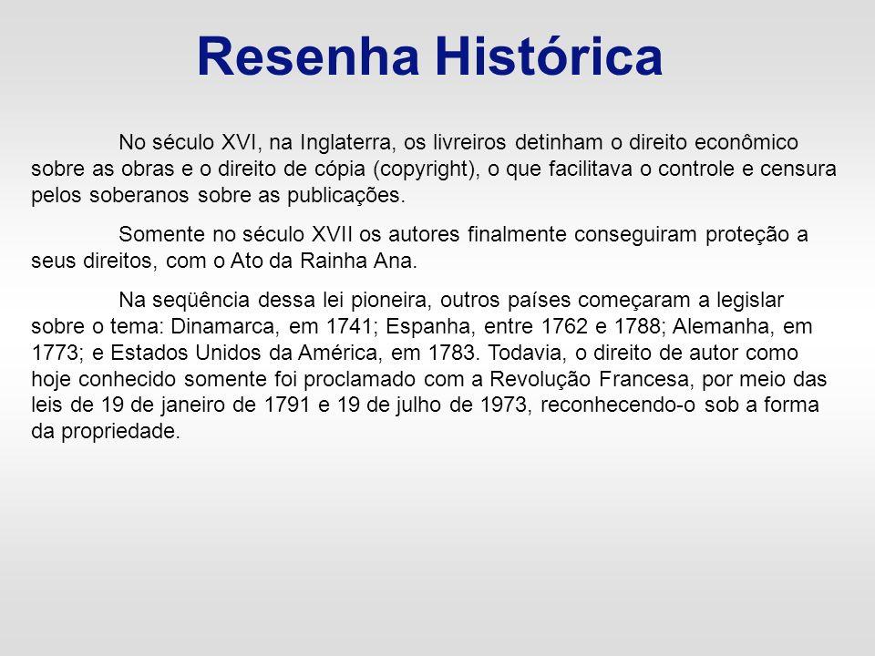 Resenha Histórica