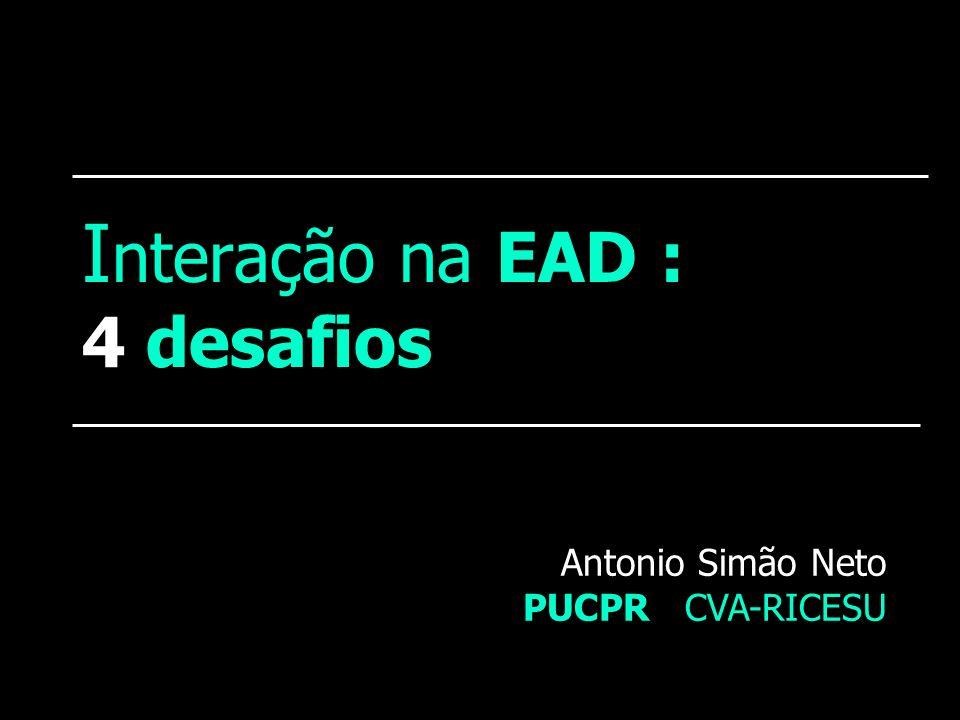 Interação na EAD : 4 desafios
