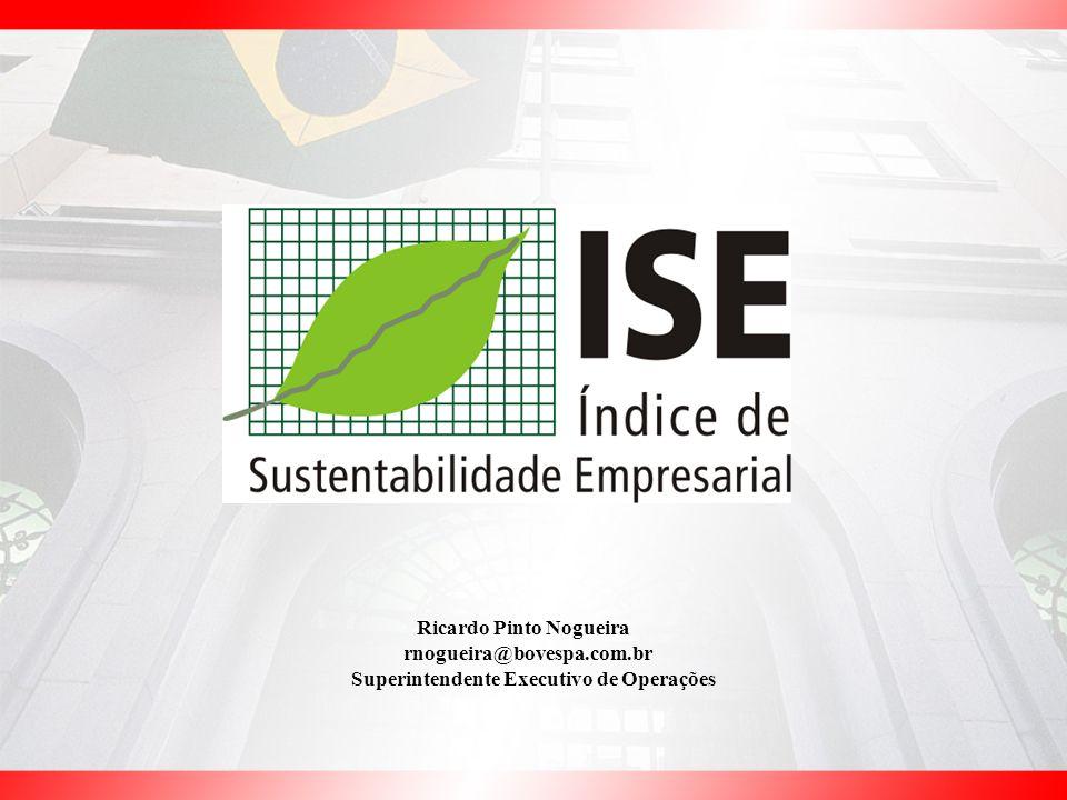 Ricardo Pinto Nogueira Superintendente Executivo de Operações