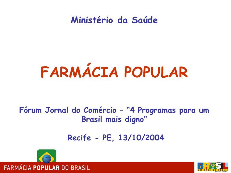Fórum Jornal do Comércio – 4 Programas para um Brasil mais digno