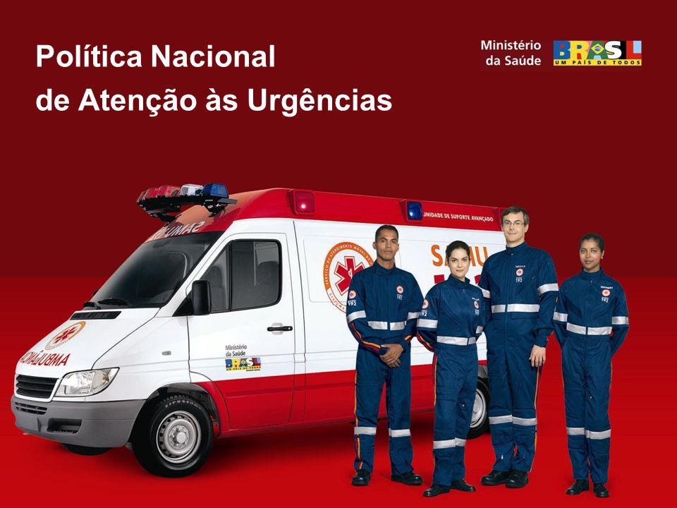 Política Nacional de Atenção às Urgências