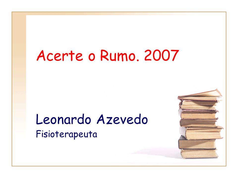Leonardo Azevedo Fisioterapeuta