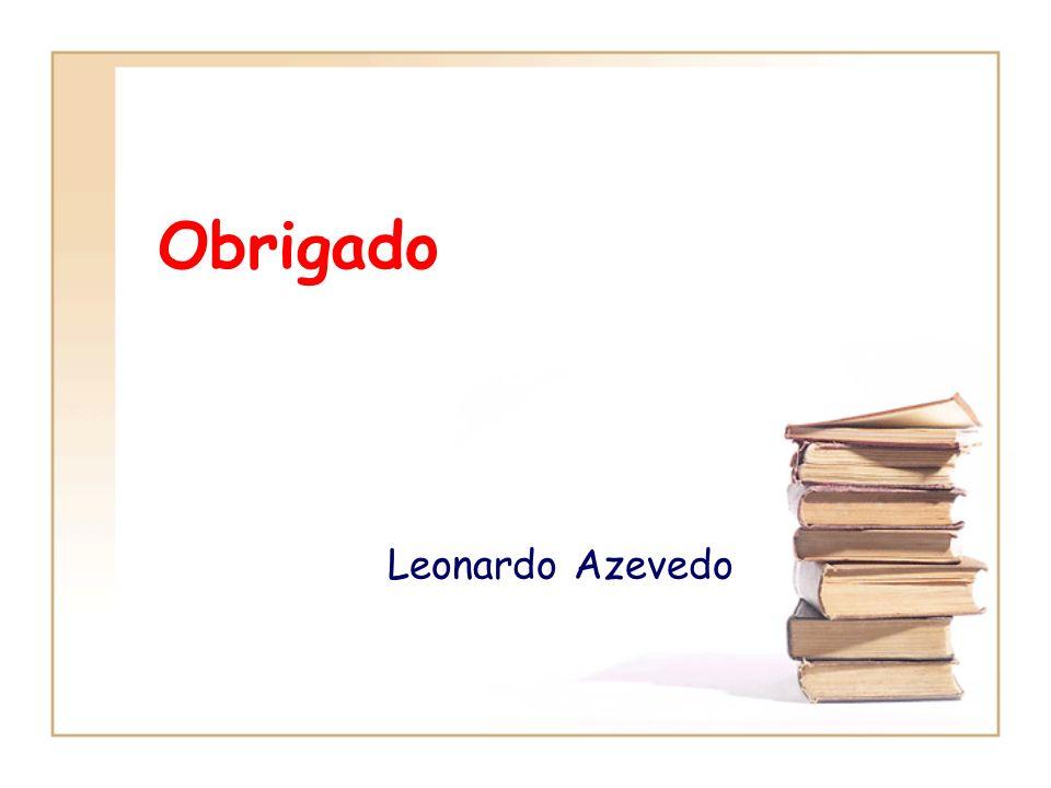 Obrigado Leonardo Azevedo