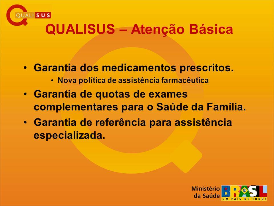 QUALISUS – Atenção Básica