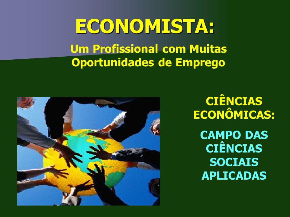 ECONOMISTA: Um Profissional com Muitas Oportunidades de Emprego