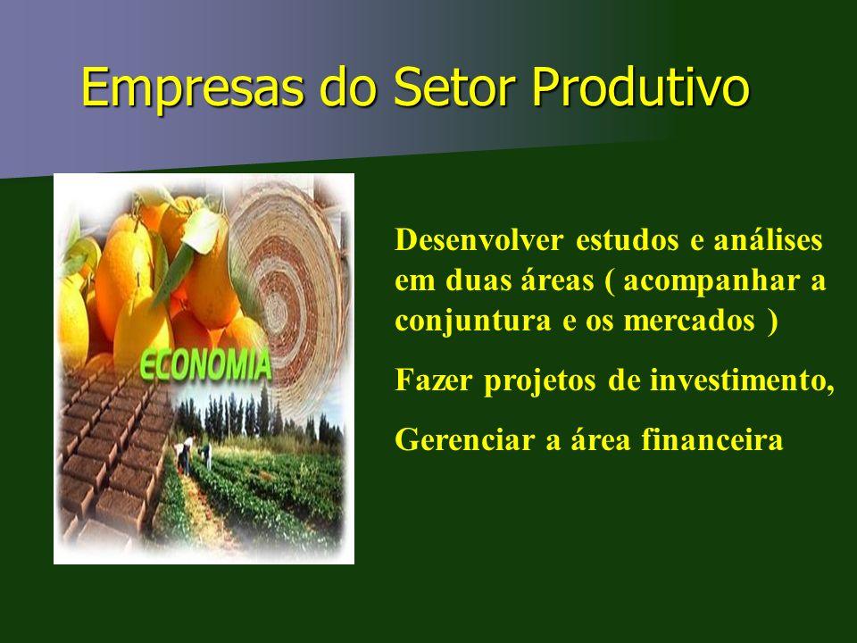 Empresas do Setor Produtivo
