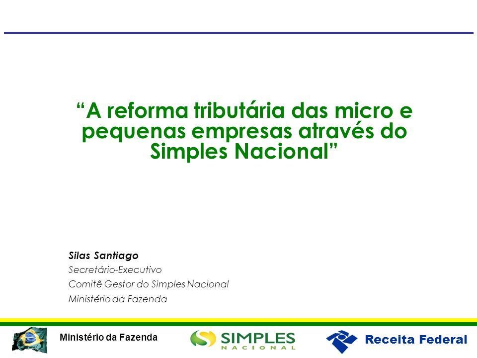 A reforma tributária das micro e pequenas empresas através do Simples Nacional