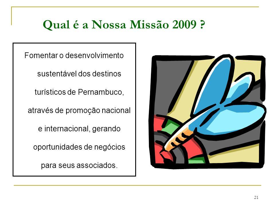 Qual é a Nossa Missão 2009