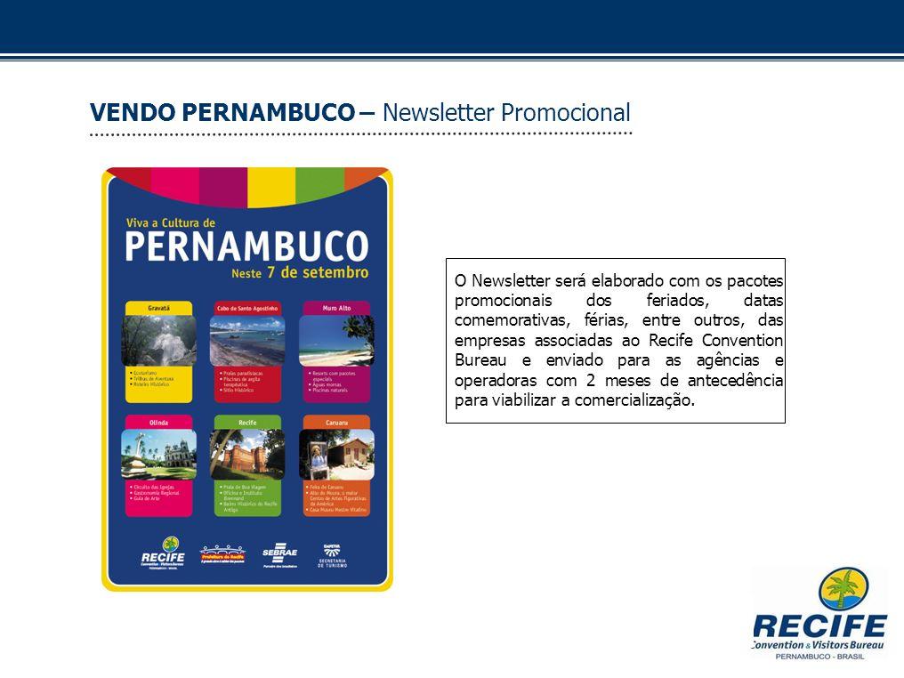 VENDO PERNAMBUCO – Newsletter Promocional
