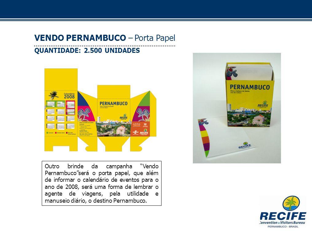 VENDO PERNAMBUCO – Porta Papel