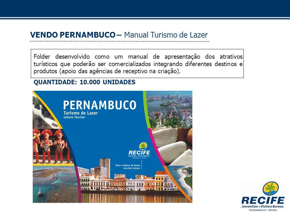 VENDO PERNAMBUCO – Manual Turismo de Lazer