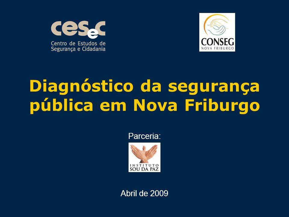 Diagnóstico da segurança pública em Nova Friburgo