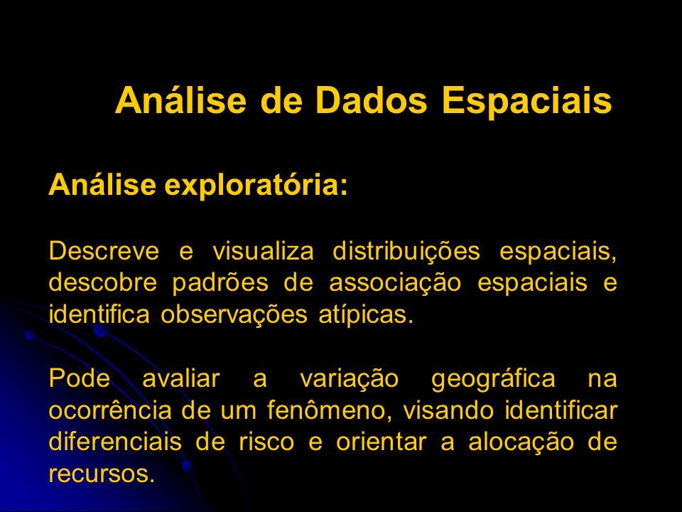 Análise de Dados Espaciais