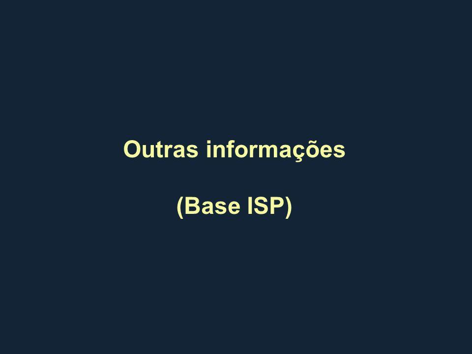 Outras informações (Base ISP)