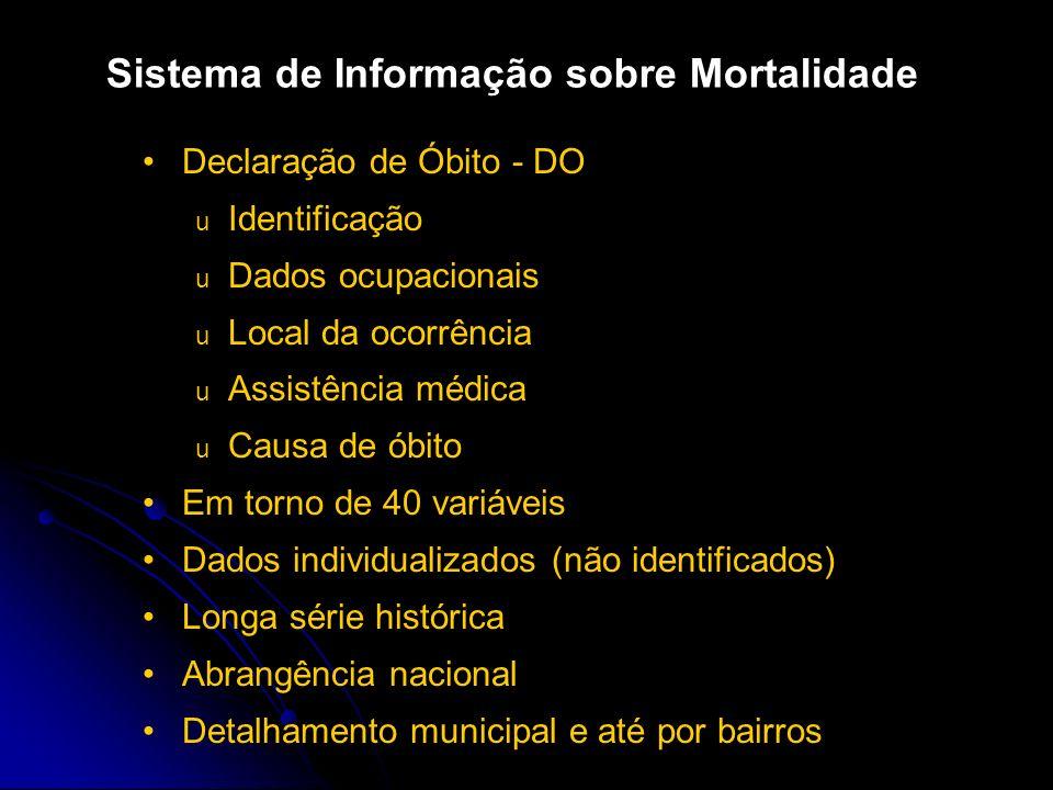 Sistema de Informação sobre Mortalidade