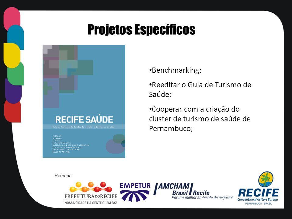 Projetos Específicos Benchmarking;