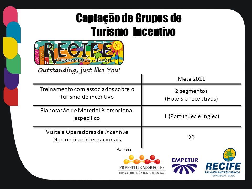 Captação de Grupos de Turismo Incentivo