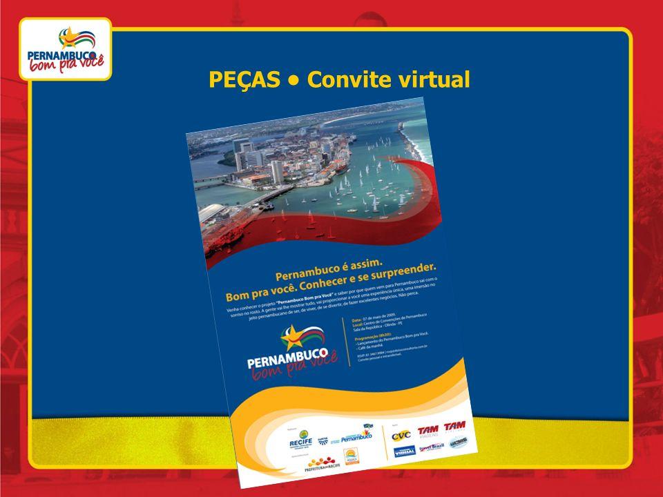 PEÇAS • Convite virtual